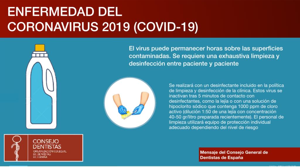 Desinfección Protocolo Clinica Dental Murtra Coronavirus
