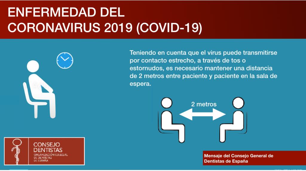 Distancia de seguridad Protocolo Clinica Dental Murtra Coronavirus